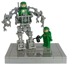 Small Exo-Suit (T.Oechsner) Tags: lego spaceman ncs exosuit space