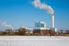 coal-fired (Rasande Tyskar) Tags: hamburg germany kraftwerk power station heating plant coal kohle kohlekraftwerk energie energy coalfired winter snow schnee
