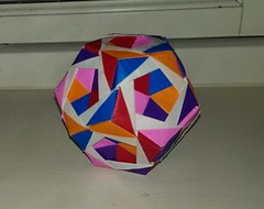 Adaptable Dodecahedron by Aldous Marcell (lisemonsen) Tags: origami modular
