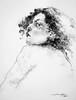 P1017613 (Gasheh) Tags: art painting drawing sketch portrait girl line pen charcoal gasheh 2018