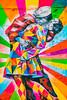 When a Man Loves a Woman (Thomas Hawk) Tags: america kobra manhattan nyc newyork newyorkcity usa unitedstates unitedstatesofamerica graffiti kiss streetart fav10 fav25 fav50