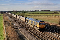 66707 'Sir Sam Fay Great Central Railway' @ Colton South Jct. (TheRosyMole) Tags: 6707 sirsamfay coltonsouthjct yorkshire gbrf railway railroad