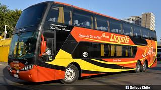 Busscar Panoramico DD / Buses Liquiñe