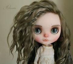Introducing Ansuz! (Melacacia ☽) Tags: melacacia custom blythe doll mohair ansuz redwoods runes viking ancient shaman girl puppelina eye chips