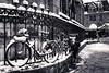 Rascal! (mywalkabouts) Tags: street paris snowfun streetphotography photoderue streetlife streetscene neige snow bw 40mm 6d kid canon france parisian