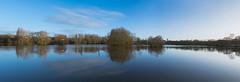 Parc Balzac inondé (Kilian ALL) Tags: parc balzac angers maine crue panorama arbre tree eau water