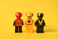 Anti-Flash (th_squirrel) Tags: lego dc comics flash reverse reverseflash zoom hunter zolomon daniel west cw television minifig minifigs minifigures minifigure