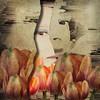 My secret garden (lorenka campos) Tags: introspective artdigital tulips flowers selfportrait modernart art secretgarden garden