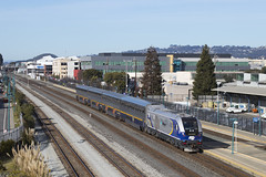 537 - Emeryville (imartin92) Tags: emeryville california amtrak passenger train capitolcorridor railroad siemens sc44 charger locomotive