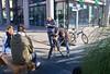 The Interview (schreibtnix on 'n off) Tags: reisen travelling italien italy mailand milan architektur architecture linien lines menschen people kamera camera nachrichten news theinterview olympuse5 schreibtnix