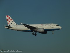 Croatia Airlines 9A-CTG (Aircraft Aviation in Europe) Tags: croatia airlines airbus amsterdam airport