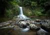 Waiau Falls (loveexploring) Tags: 309 coromandel coromandelpeninsula newzealand newzealandnativeforest northisland waiaufalls bush forest green landscape longexposure motionblur rocks stream water waterfall