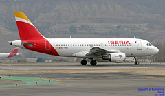 EC-KKS LEMD 10-01-018 (Burmarrad (Mark) Camenzuli Thank you for the 10.3) Tags: airline iberia aircraft airbus a319111 registration eckks cn 3320