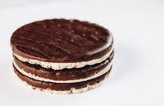 Chocolate rice cakes. Healthy dessert.jpg (marcoverch) Tags: natural crunchy coated sweet dieting breakfast brown background cakes diet biscuit rice pile health isolated stack white eating closeup vegetarian space snack light fitness covered calories nutrition round puffed chocolate dark cake nature object copy healthy lifestyle food black