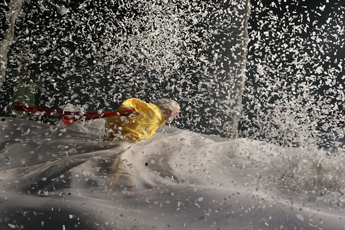 In the snowstorm by Vladimir Mishukov - Slava's Snowshow