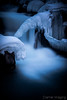 Ice Castle (Cramer Imaging) Tags: photo photography photograph nature natural outdoor outdoors landscape scenic water waterfall cold winter wintertime ice icy icicle icicles silky texture white black blue rock rocks snow arch frozen river snakeriver