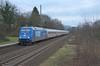 DB 101 144, Bonn-Oberkassel (Sander Brands) Tags: trein treni train treno trenuri züg zug züge db d7000 nikon rail railfanning rhein rheintal ic intercity werbe lok loc locomotive