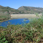La Gomera (Spain's Canary Islands) - subtropical vegetation and a water reservoir @ Agulo thumbnail