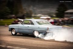 1966 Chevrolet Nova Burnout (Dejan Marinkovic Photography) Tags: 1966 chevrolet chevy nova dragster american classic car racecar drag quartermile blown burnout dragstrip