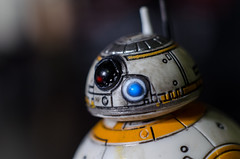 BB-8 (Gaijin Ghost) Tags: bb8 starwars star wars droid the force awakens lucasfilm disney black series hasbro toy macro nikon old school