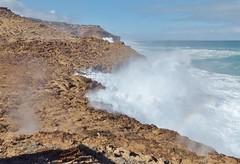 Blowholes (sarinozi) Tags: australia australian outdoor nature natural cliff seaspray wave coast shore rock barren rugged rough