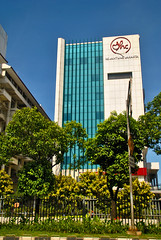 RS Jantung Jakarta (Ya, saya inBaliTimur (using album)) Tags: jakarta building gedung architecture arsitektur office kantor