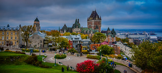 Le Château Frontenac and Vieux-Québec - Québec City Québec Canada