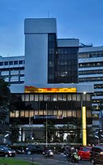 Gedung Bank Umum Nasional (Ya, saya inBaliTimur (leaving)) Tags: jakarta building architecture arsitektur gedung office kantor