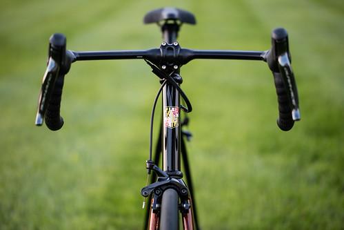 "Black Magic/Bishop NAHBS 2017 ""best finish"" Di2 bike"