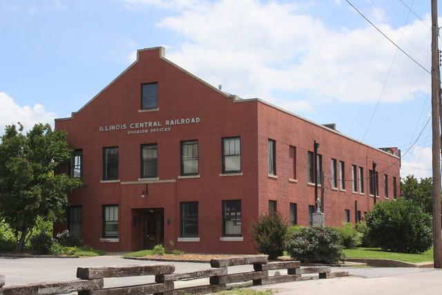 Illinois Central Railroad Division Office - Jackson, TN