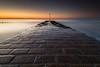 Ferring Sunrise - Sussex (E_W_Photo) Tags: ferring sussex uk england sea tide sunrise beach canon 80d sigma 1020mm leefilters paving brick