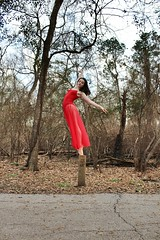 A mile and a half (Ivana Zavala) Tags: america unitedstates houston texas purple blue colors green red onpointe pointeshoes pointe trail park jump hop skip sprint sprinting falling hopping skipping jumping running exercise jogging mile