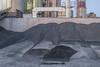 Land of plenty (Markus Lehr) Tags: rawmaterial industry newtopographics forms tones textures humanartifacts manmadelandscape longexposure diefflen germany markuslehr