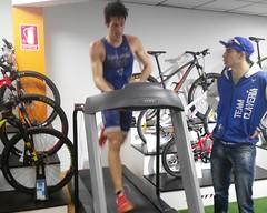 David Huertas triatlón Indoor team clavería triatlón World 6