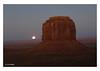 Full Moon 2 (MabelDuster) Tags: landscape full moon merrick butte monument valley arizona usa desert mountain red rocks
