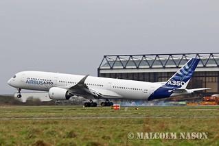 A350-941 F-WXWB AIRBUS INDUSTRIE