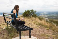 Leyendo (Letua) Tags: 52semanas 52anonimos argentina mendoza daughter hija landscape leyendo montañas paisaje reading 52 52weeks