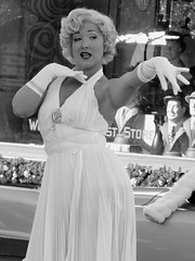 Marilyn Monroe (meeko_) Tags: marilyn monroe marilynmoroe actress moviestar characters universalorlandocharacters diamond bellas marilynandthediamondbellas show entertainment newyork universal studios florida universalstudios universalstudiosflorida themepark orlando universalorlando christmas universalchristmas holidaylikethis readyforuniversal bw blackandwhite