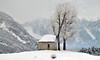 Kapelle (Alpine Light & Structure) Tags: switzerland schweiz suisse snow alps alpen alpes graubünden bonaduz chapel