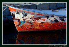 A colorful boat (cienne45) Tags: carlonatale cienne45 natale genoa italy colorfullaward