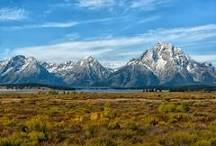 Mountain Majesty (Philip Kuntz) Tags: tetons jacksonlake autumn fall fallfoliage mtstjohn rockchuckpeak mountwoodring mountmoran peaks tetonnationalpark wyoming