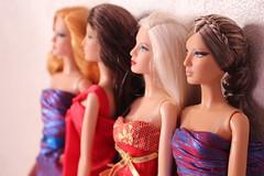 The Louboutins (MJolinda) Tags: louboutin barbie basics model muse herve leger mattel