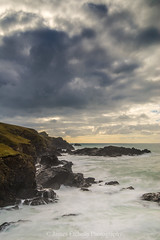 Passing Fury (James Etchells) Tags: cornwall kernow lizard peninsula seascape landscape storm waves wave sea ocean water sky clouds coast coastal rock rocky rocks long exposure exposures dramatic south west england uk britain landscapes seascapes portrait nikon lee filters photography