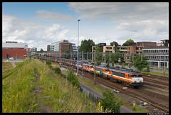 Railexperts 9901, Amersfoort 14-07-2017 (Henk Zwoferink) Tags: amersfoort utrecht nederland nl railexperts locon jacko fijn techniek 6703 9901 9902 9908 henk zwoferink vuilnis vuiltrein