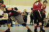 182 (Bawdy Czech) Tags: lcrd lava city roller dolls cinder kittens cherry bomb brawlers skate rollerskate bout bend oregon or february 2018 juniorderby juniors rollerderby lavacityrollerdolls