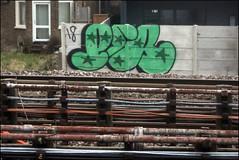 Per (Alex Ellison) Tags: per northwestlondon urban graffiti graff boobs trackside railway