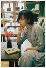 M U S E (Lazy Lounger) Tags: aodai retro vintage saigon vietnam portrait fujifilm muse