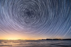 Star Trails: First Attempt (Dino Sokocevic) Tags: tamron nikon longexposure stars star startrail nasa longexpo mefoto tripod vermont newengland space astrophotography new vt burlington sky nightscape