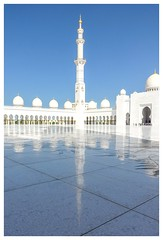 Sheihk Zayed Mosque (posterboy2007) Tags: sheihkzayedmosque uae abudhabi marble reflection mosque religion white