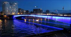 Le pont Albert 1er sur la Meuse, Liège, Belgium (claude lina) Tags: claudelina belgium belgique belgïe liège fleuve meuse pont bridge pontalbert1er imeuble